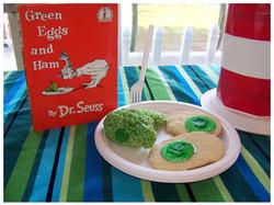 Dr. Seuss Green Eggs and Ham treats
