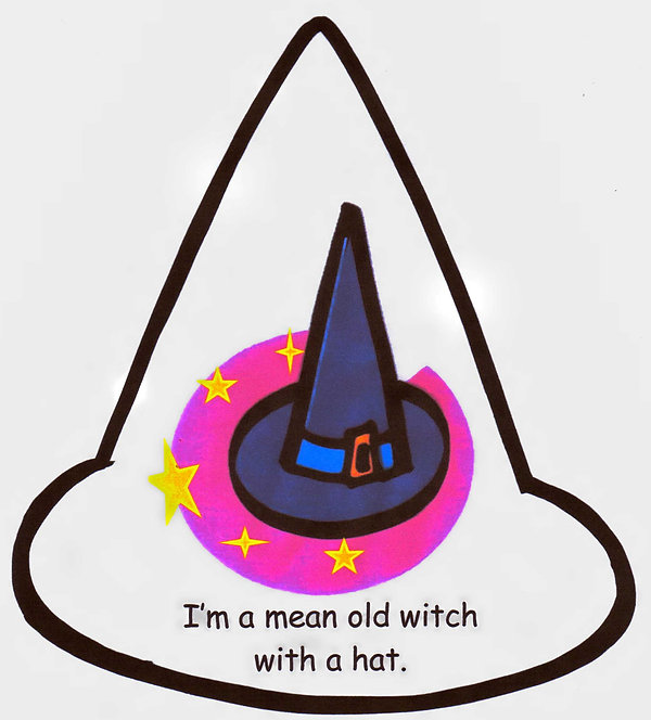Kidfunideas.com mean old witch mini books for kids