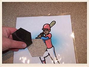 Kidfunideas.com Strike him out baseball craft