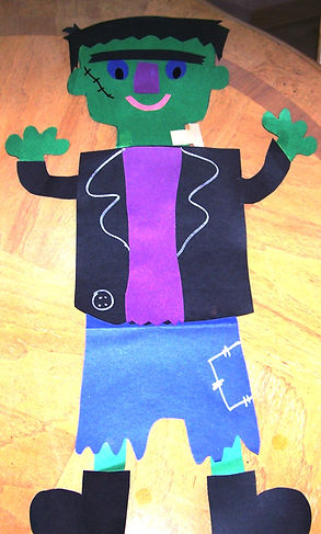 Kidfunideas Frankenstein Monster craft