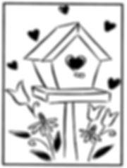 Kidfunideas.com Valentine stainglass pattern 2