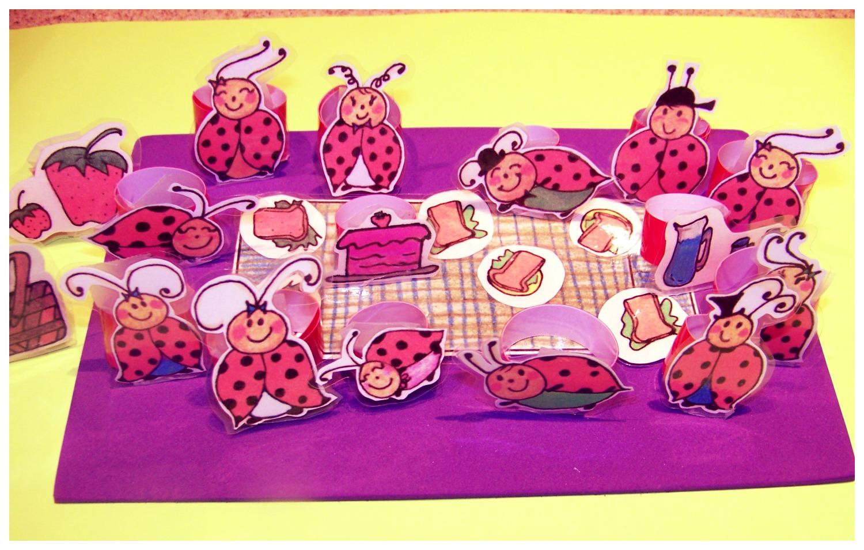 Ladybug Picnic- playfigures