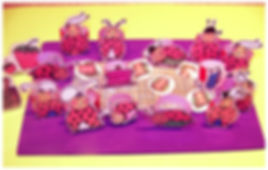 Kidfunideas.com Ladybug picnic craft - 3D versions picture
