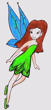 Kidfunideas.com my little fairy craft pattern