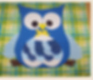 Kidfunideas.com Owl backpack easy sewing project for kids