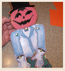 Halloween Scarecrow crafts for kids