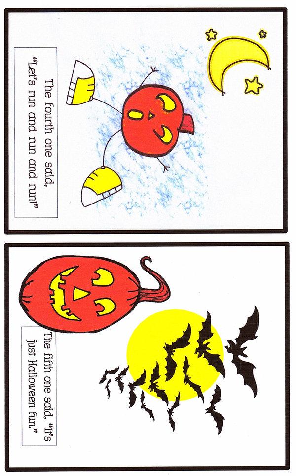 Kidfunideas.com five little pumpkins free halloween book for kids
