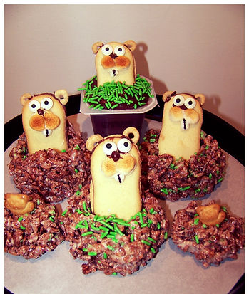 Kidfunideas.com Groundhog's day treats final picture