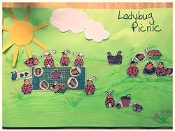 Ladybug Picnic Picture