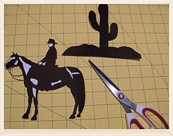 Kidfunideas.com Sunset desert craft picture