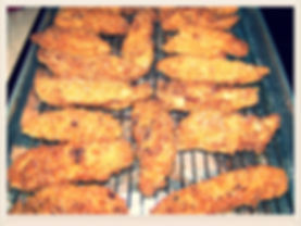 Kidfunideas.com Super Tasty Chicken Strips.  So tender and juicy these are the best Chicken strips for kids.  Make these for an easy weeknight meal, a picnic or party and watch them disappear!