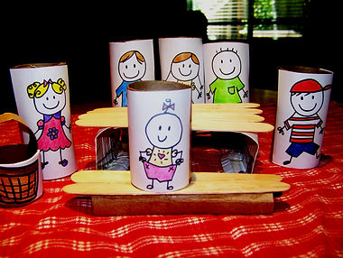 Kidfunideas.com my little picnic table craft for kids