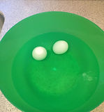 Kidfunideas.com tip: how to get room temperature eggs faster when baking