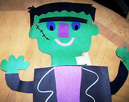 Kidfunideas.com Frankenstein Monster craft