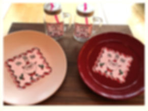 Kidfunideas.com Santa cookie plate and hot coco mug craft picture