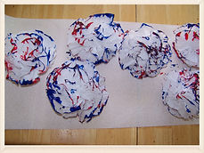 Kidfunideas.com 4th of July garland
