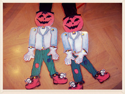 Halloween Scarecrow craft