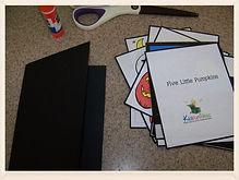 Kidfunideas.com 5 little pumpkins Halloween book
