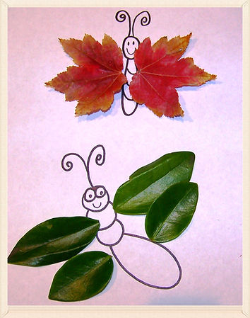 Kidfunideas.com leaf buddies autumn craft for kids