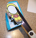 Kidfunideas.com Astronaut to the moon space craft picture of cutting out the astronaut