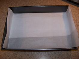 Kidfunideas.com Santa Chimney treats example picture - lining the tray