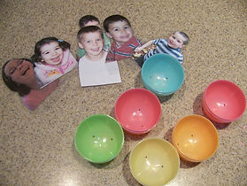 Kidfunideas.com Easter egg kids craft step one photo