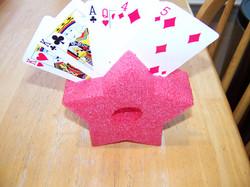 Pool noodle card holder tip (2)