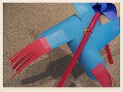 Kidfunideas.com sparkler pinwheel craft for kids