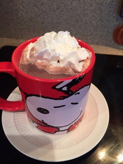 Rich and delicious hot coco