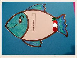Kidfunideas.com Rainbow fish craft for kids