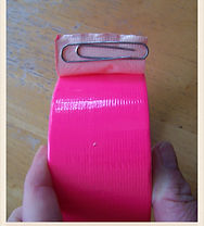 Kidfunideas.com crafting tip: Never loose the end of a tape roll