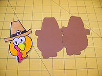 Kidfunideas.com the Turkey is a silly bird Thanksgiving craft for kids