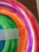 Kidfunideas.com paper plate ball toss game