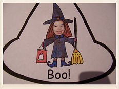 Kidfunideas.com Mean old witch free Halloween book for kids