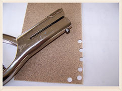 Kidfunideas.com tip: sharpen hole and paper punches using sand paper