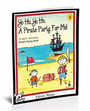 Kidfunideas.com Pirate Party book.  The best pirate party book around.  Everything you need to plan the perfect Pirate party.  Games, recipes, treasure hunts, invitations, thank you notes, decorating ideas - it's all here!