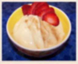 Kidfunideas.com Coconut Milk Pudding.  Super easy and delicious homemade pudding for kids to make