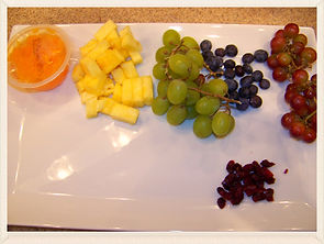 Kidfunideas.com eat a rainbow healthy snack craft for kids