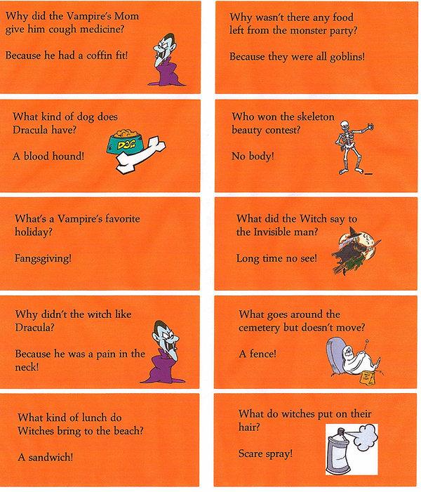 Kidfunideas.com super fun Halloween jokes for kids