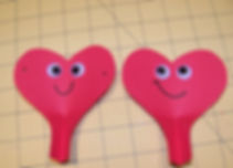 Kidfunideas.com Valentines paper airplane picture of heart buddies
