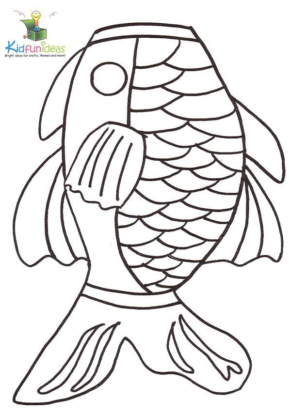Kidfunideas.com fish windsock pattern