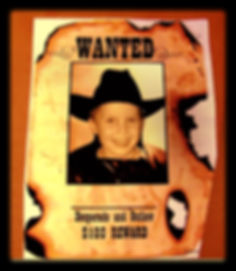 Kidfunideas.com wanted poster craft for kids