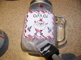 Kidfunideas.com Hot coco mugs picture directions. Applying the art to the mugs