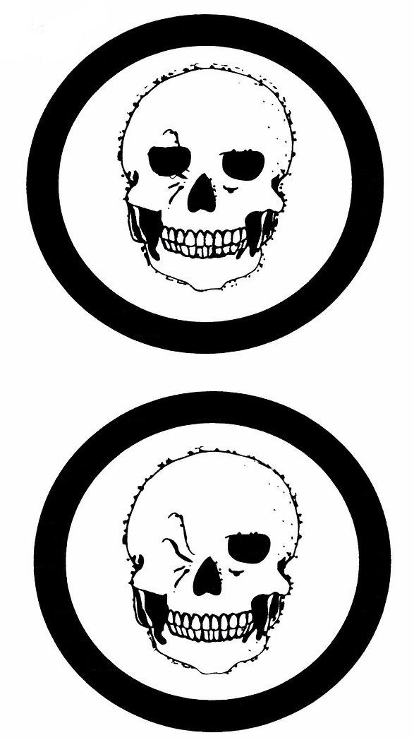 Kidfunideas.com Halloween Winking skeleton craft for kids