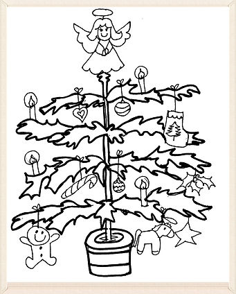 Kidfunideas.com Christmas activity sheets picture