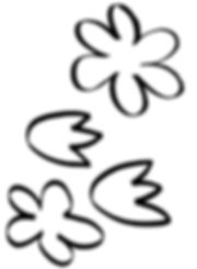 Kidfunideas.com Mother's day butterfly picture flower pattern pieces