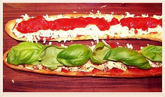 Kidfunideas.com chicken parmesan sandwich recipe direction pictures