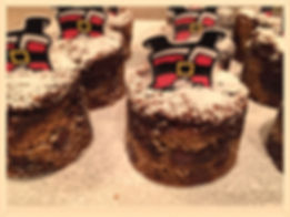 Kidfunideas.com Santa Chimney treats - yummy half chocolate chip and half chewy brownie- final picture