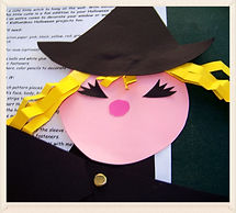 Kidfunideas.com cute Halloween witch for kids