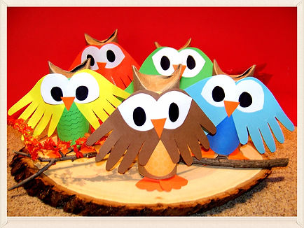 Kidfunideas.com Whoo's ready for autumn easy owl craft for kids